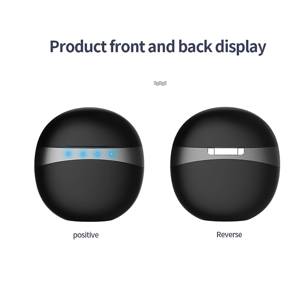 Wireless Bluetooth Earphones M19 TWS Music High Stereo Bass Touch Operation Earbuds for Android IOS Phone enlarge
