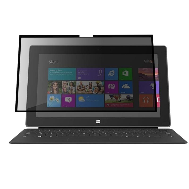 Filtro de pantalla de privacidad con pantalla de presión extraíble fácil de encender/Apagar para Microsoft Surface Laptop de 13,5 pulgadas-película antirreflejo