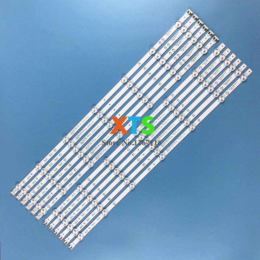 """Tira de luz LED para SAMSUNG 60 """"TV UA60F6088AJ 2013SVS60 UN60FH6300 LM41-00001L LM41-00001M BN96-29074A BN96-29075A D3GE-600SMA/B-R2/3"""