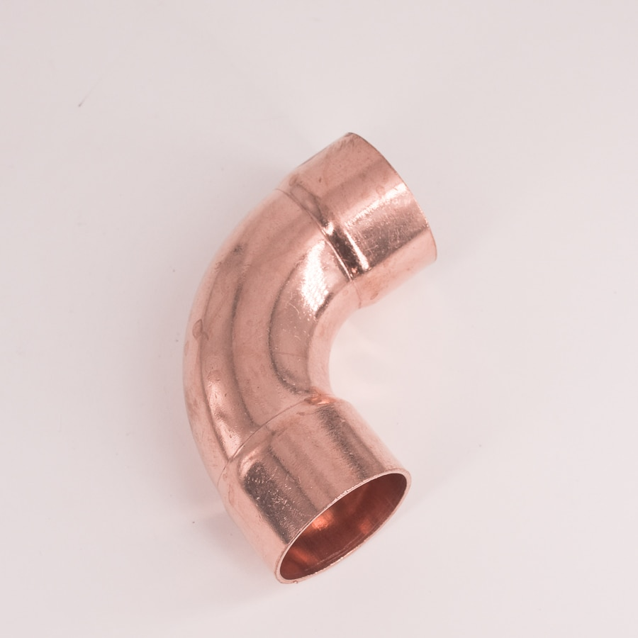 42mm Inner Dia Copper 90 Elbow Long Radius Scoket Weld  End Feed  Coupler Plumbing Fitting Water Gas Oil