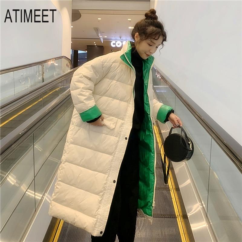 2020 Зимние Модные женские теплые пуховики, женские парки, пальто
