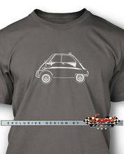 T-shirt homme Isetta Microcar-plusieurs couleurs et tailles-classique allemand carmercedes