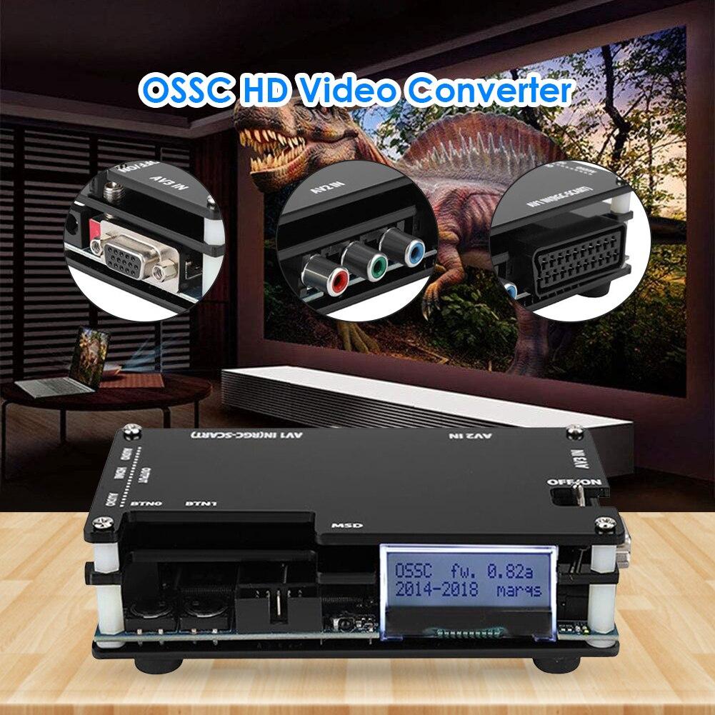 OSSC HDMI-متوافق محول عدة ل ريترو لعبة فيديو وحدة التحكم محول ل بلاي ستيشن 2 1 Xbox ل Sega Atari AU الولايات المتحدة المملكة المتحدة الاتحاد الأوروبي