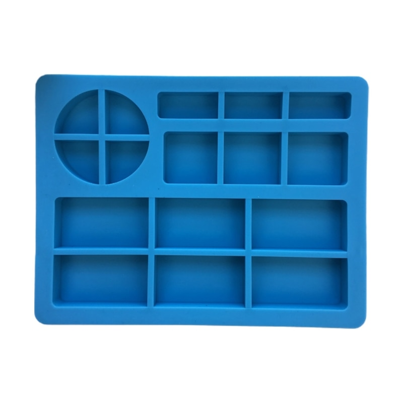 DIY Crafts Storage Container Epoxy Resin Mold Letters Makeup Tray Silicone Mould