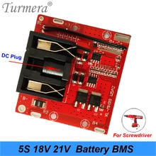 5S pil paketi 18v 21v 20A Li-ion lityum pil BMS 18650 pil tornavida shura şarj koruma levhası fit dewalt