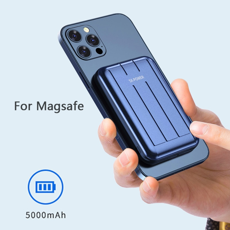 For Magsafe Charger Magnetic Power Bank 15W Fast Wireless Charging For iphone 12 12Pro 12proMax xiaomi Magnet External Battery