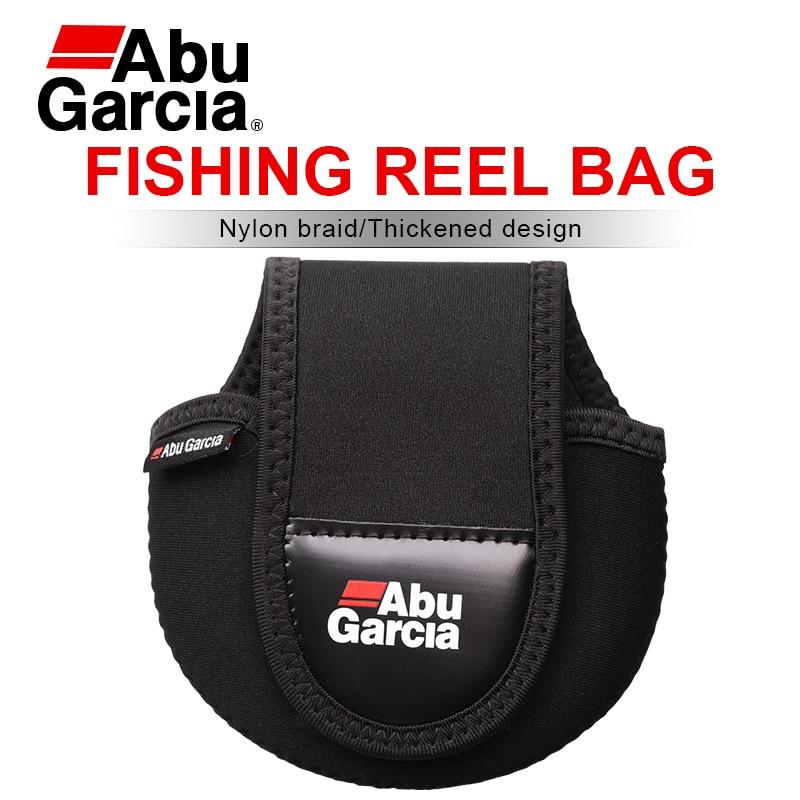 Abu Garcia-Bolsa de carrete de pesca Baitcasting, funda protectora de rueda de...