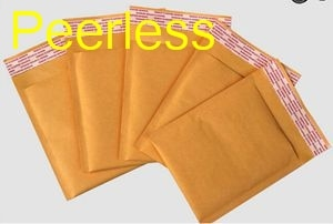Peerless (110*130 мм) 100 шт./лот крафт-Пузырчатая пузырчатая упаковочная упаковка, почтовые пакеты, конверты
