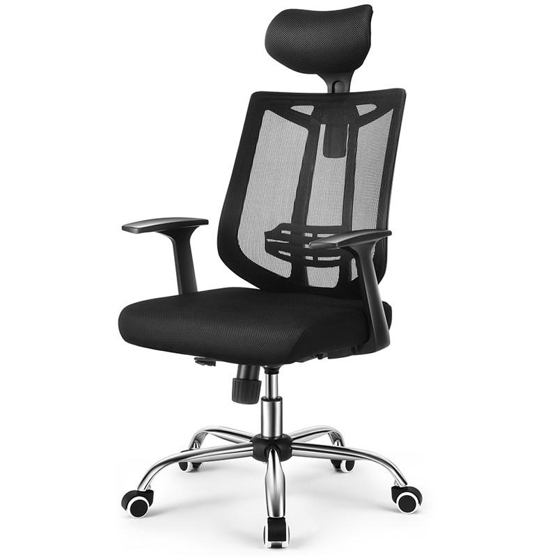 Silla de ordenador para juegos en casa silla ergonómica silla giratoria asiento jefe silla de oficina reclinable
