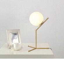 led wood glass ball lampada da tavolo reading lamp bedside for bedroom bedside lamp deco