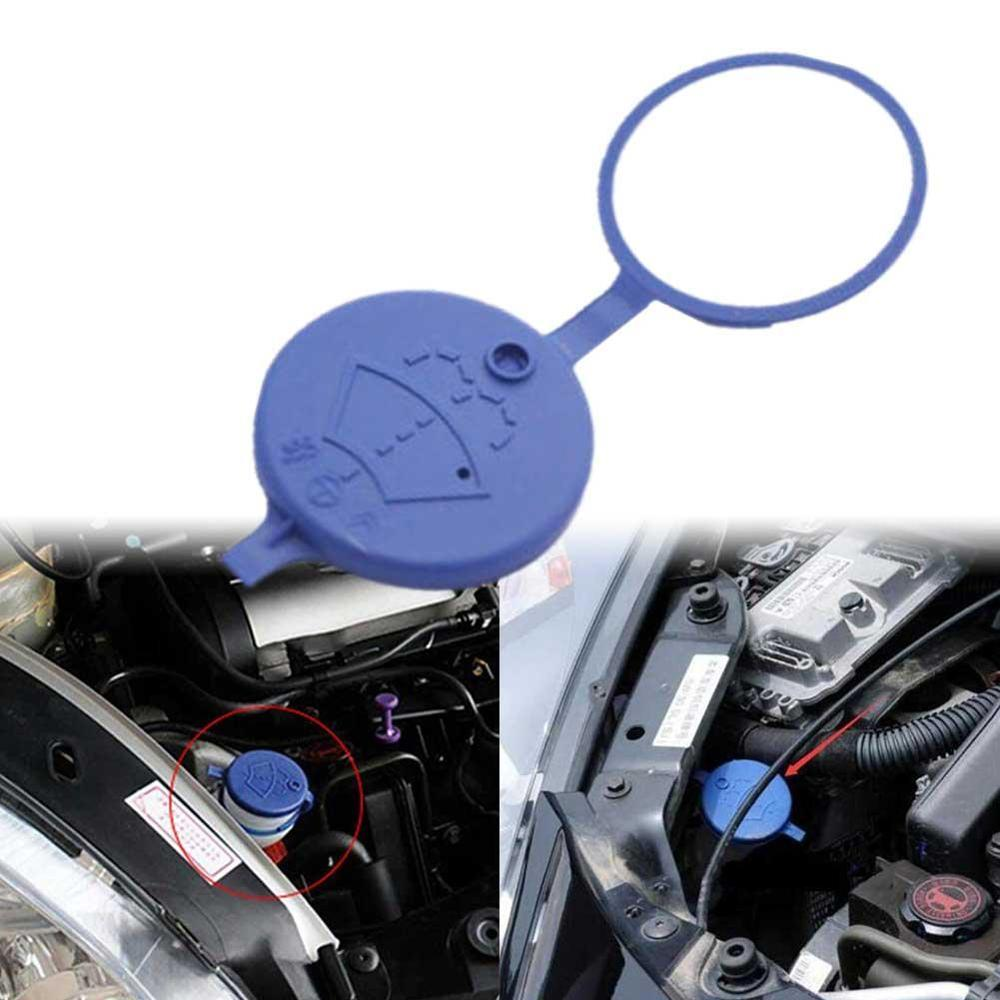 2Pcs Plastic Car Windshield Wiper Washer Fluid Reservoir Tank Bottle Cap Cover For Citroen C2/C-Elysee/Xsara/Picasso Peugeot