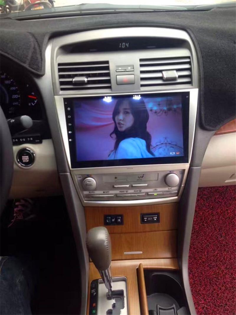 "Radio de coche android 10,1 de 8,1 ""para toyota Camry 2006-2011 con wifi, 4g quad core, volante, control, cámara de marcha atrás, bluetooth"