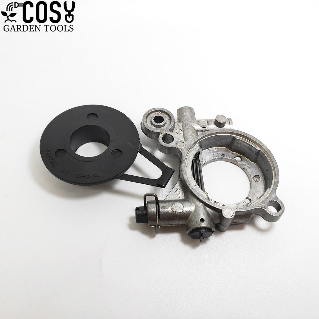 Oil Pump Worm Gear Set Fits For Husqvarna 362 365 371 372 372XP 385 390 Chainsaws Replacement Parts #503521301