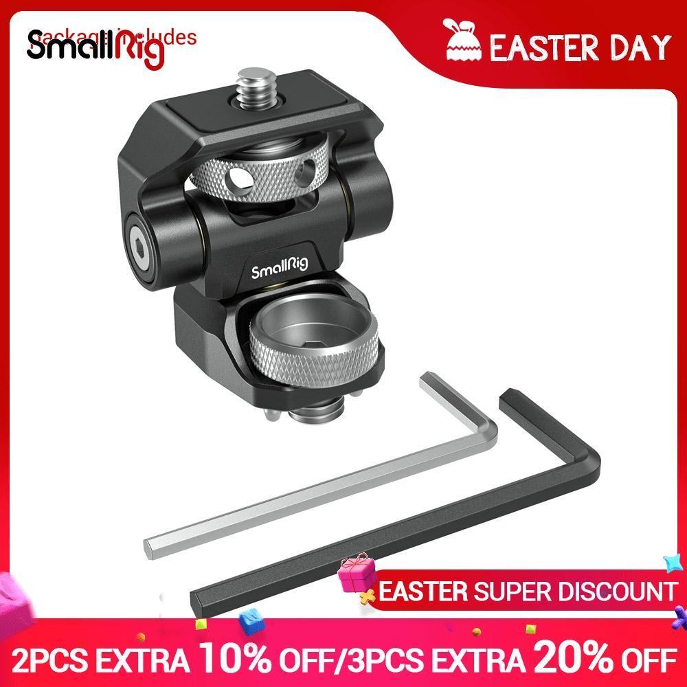 SmallRig-montaje de Monitor ajustable giratorio y de inclinación, montaje estilo ARRI para...