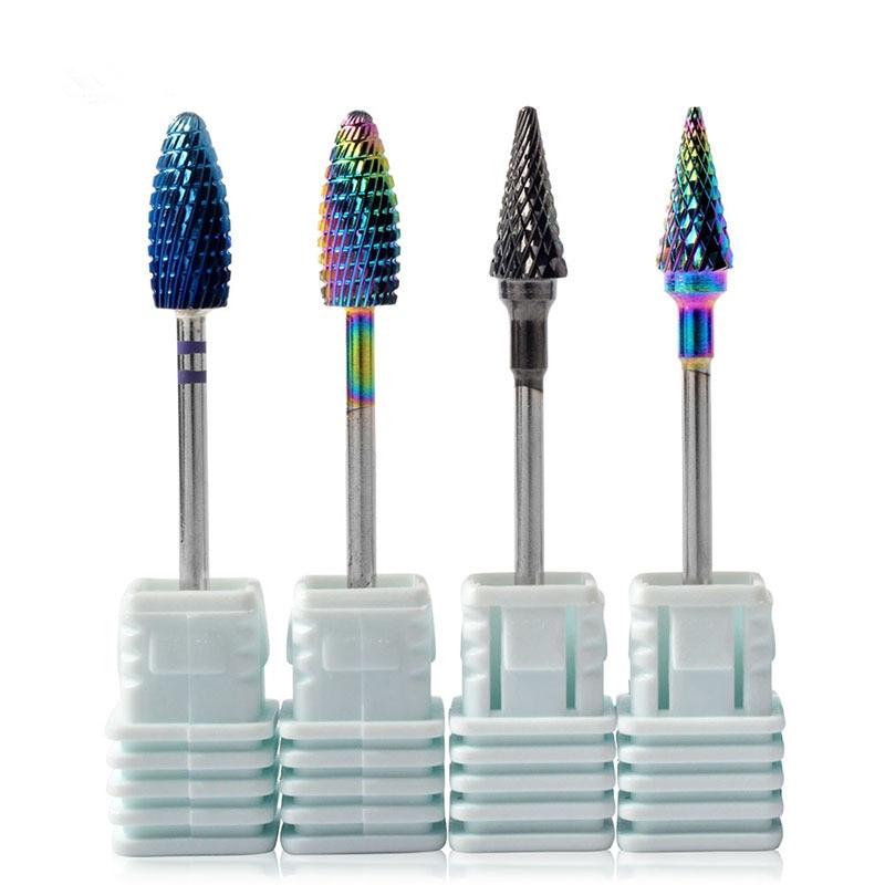 1 Pc Diamond Nail Drill File Bits For Electric Milling Pedicure Machine Manicure Nail Art Tool Kit
