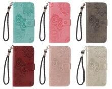 Flip Wallet Case For Huawei P8 P10 P20 P30 Lite Pro 2017 2019 Honor 9 Lite Enjoy 7S P Smart Leather Flip Phone Cover