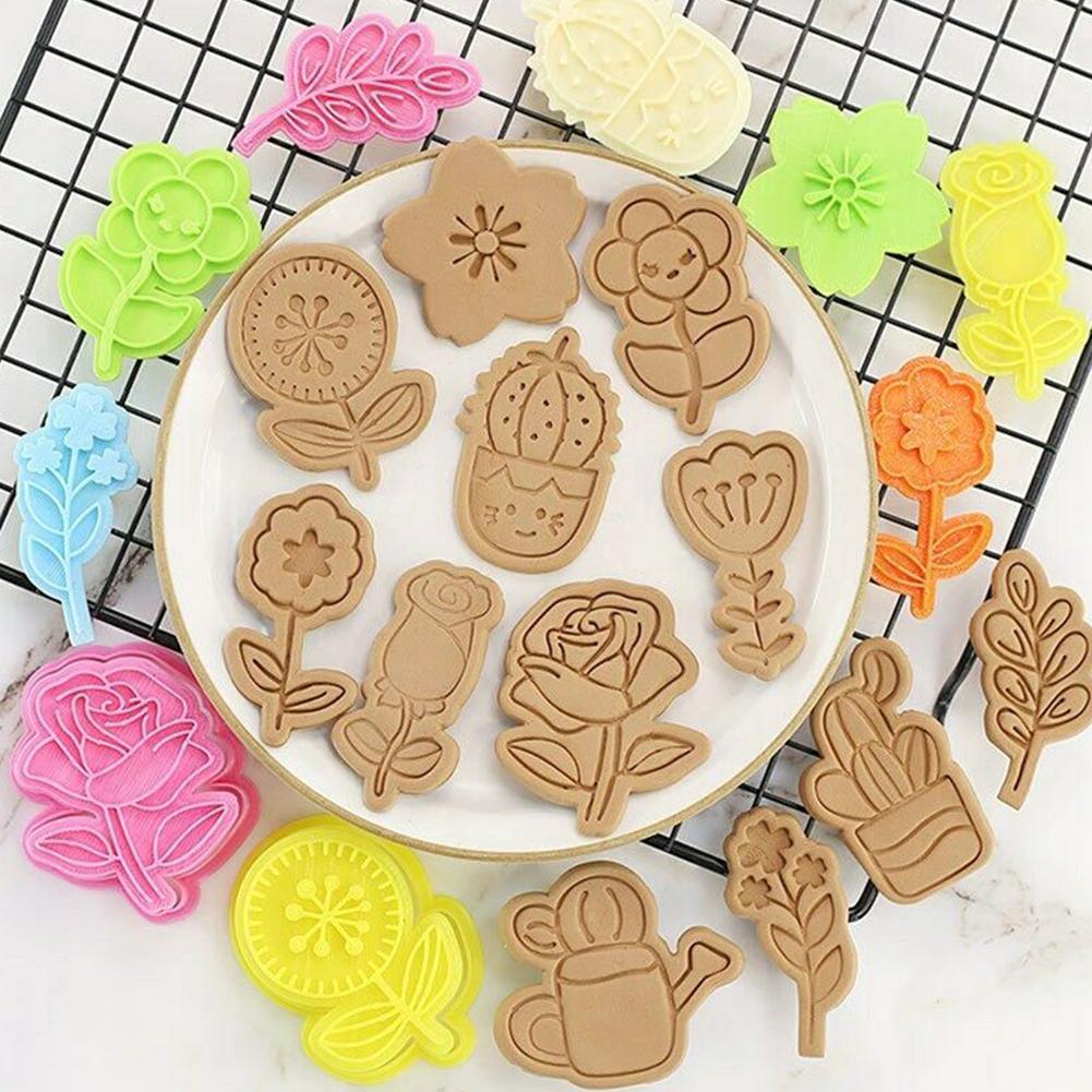 Резак в форме розы, резак для помадки, печенья, форма для торта, рукоделия, цветок, фоторезак для торта, сахар M V6q5