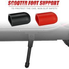 Funda protectora de soporte de pie de Scooter funda de pie almohadilla de Gel de sílice antideslizante accesorios de Scooter para M365 ES2 Xiaomi Ninebot