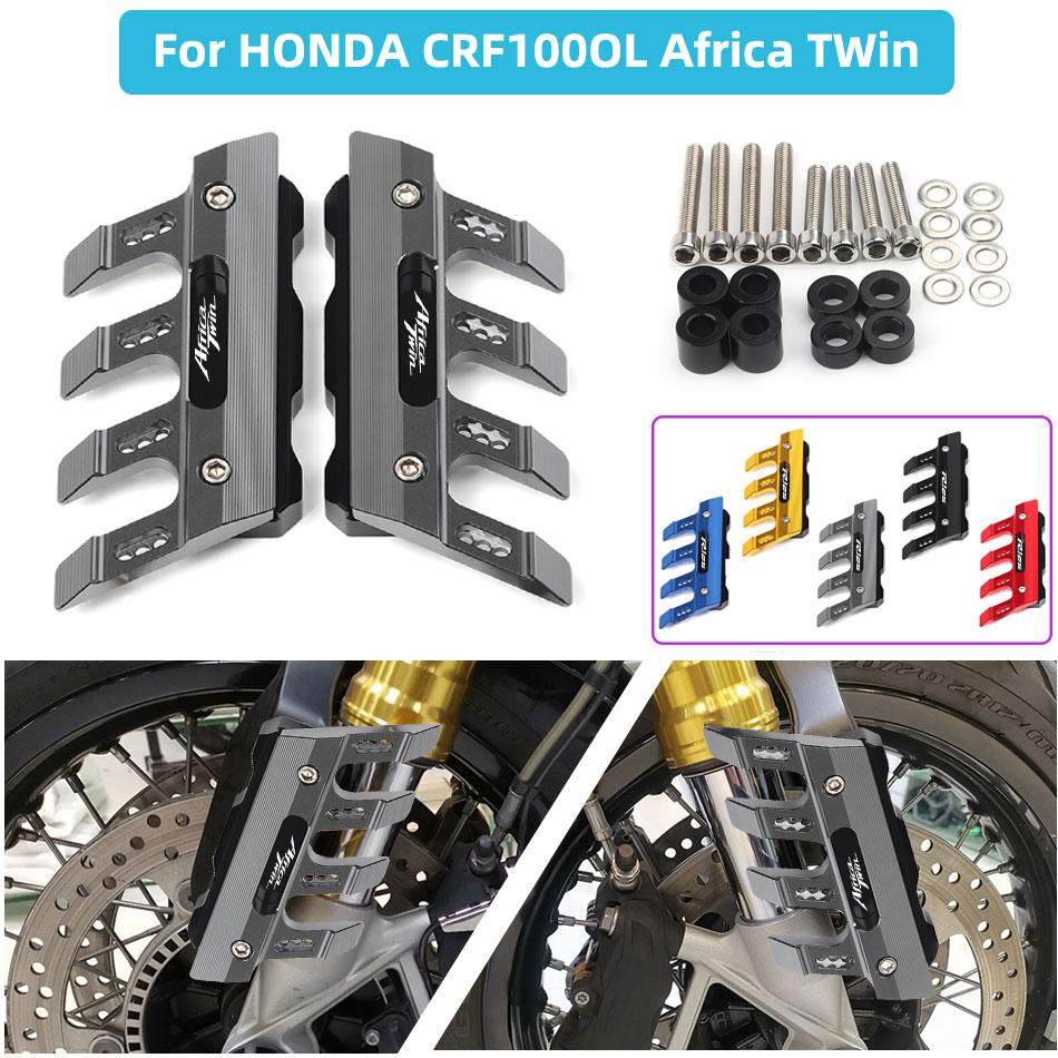 Guardabarros delantero y lateral para motocicleta, accesorios universales con logotipo, CRF1000L para...