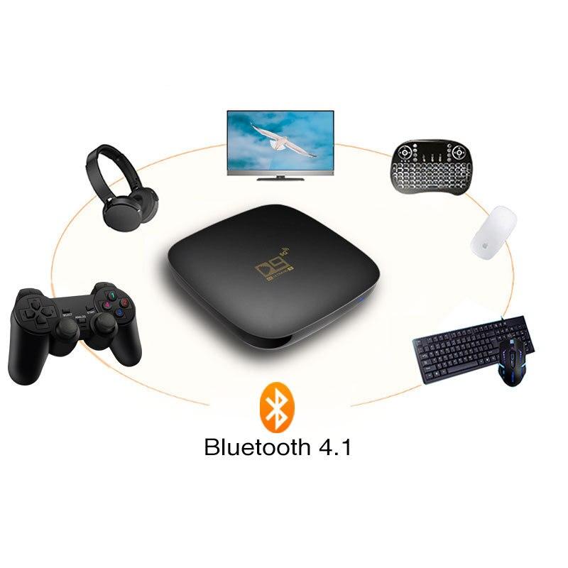 D9 5g ذكي شبكة التلفزيون قمة مجموعة صندوق مربع التلفزيون الذكية المنتج واي فاي اللاسلكية