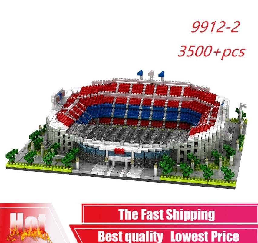 PZX-9912-2 3500 Uds., arquitectura, España, Barcelona, Club de fútbol, Nou Stadium, bloques...