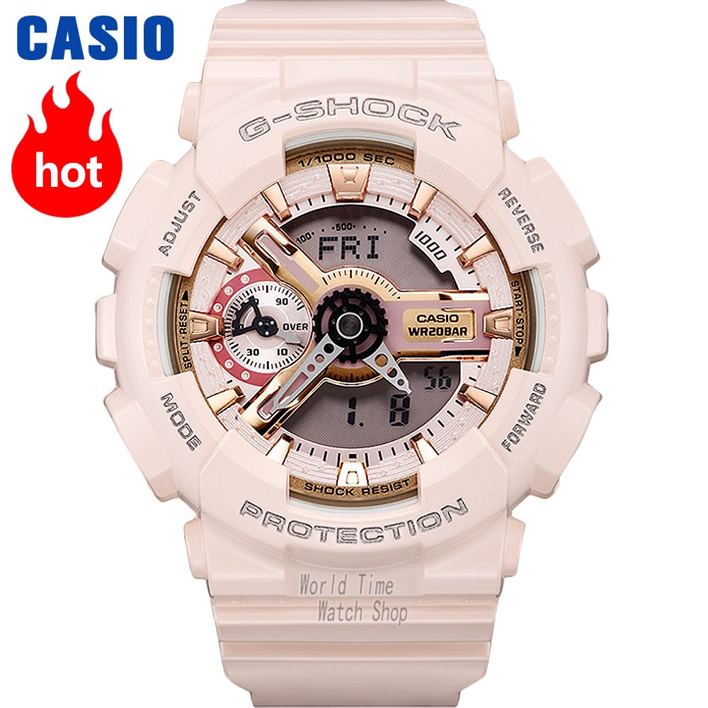 Reloj Casio g shock relojes para mujer conjunto de marca de lujo Relojes LED reloj de pulsera digital 200 m Reloj militar cronógrafo resistente al agua reloj de cuarzo para mujer reloj deportivo para mujer часы наручны