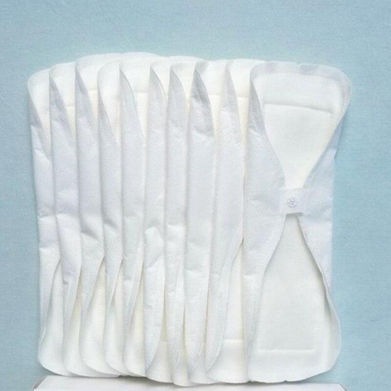 5 Pcs/lot 240mm Thin Reusable Cloth Washable Menstrual Pad Mama Sanitary Towel Pad vagina Menstrual clean Napkin Pad Waterproof