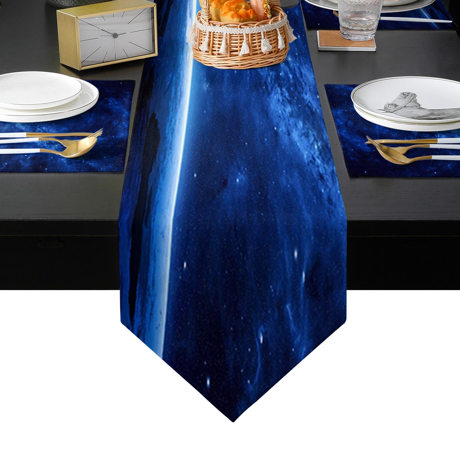الفضاء الخارجي الكون الجدول عداء الجدول الحصير غطاء للمنزل الزفاف مأدبة مهرجان حفلة التموين فندق الجدول الديكور