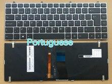 Clavier portugais rétro-éclairé pour ordinateur portable, disposition PO, pour Hasee K350C K350S pour Clevo Terrans W230ST W230SS W230SD