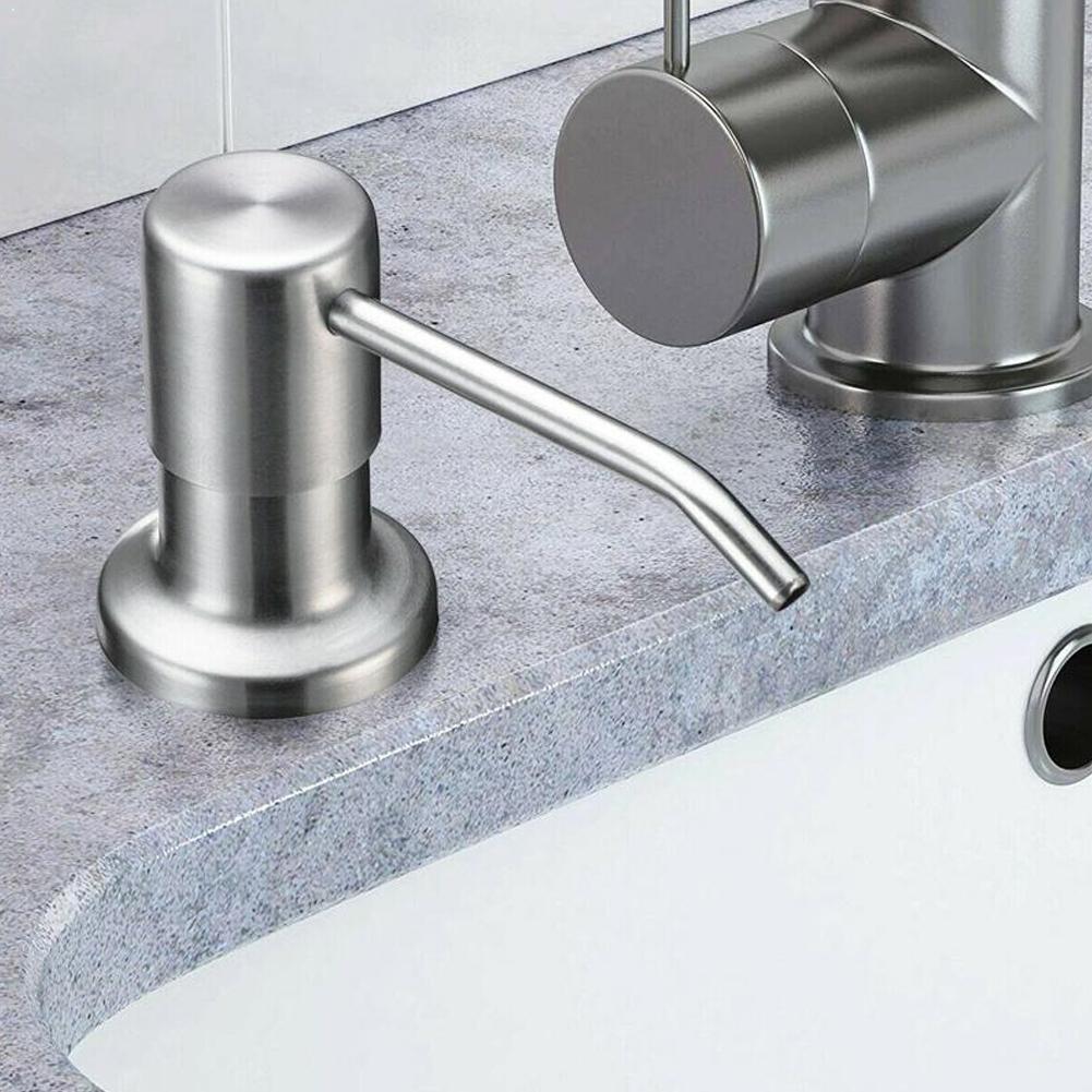 Kitchen Bathroom Sink Soap Lotion Dispenser Soap Dispenser Products Bottle Home Improvement Bathroom Dispenser ABS Lotion R3Y5