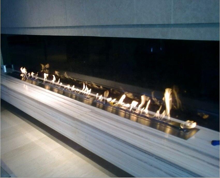 hot sale 72 inches bio ethanol remote burner insert indoor gel fireplaces