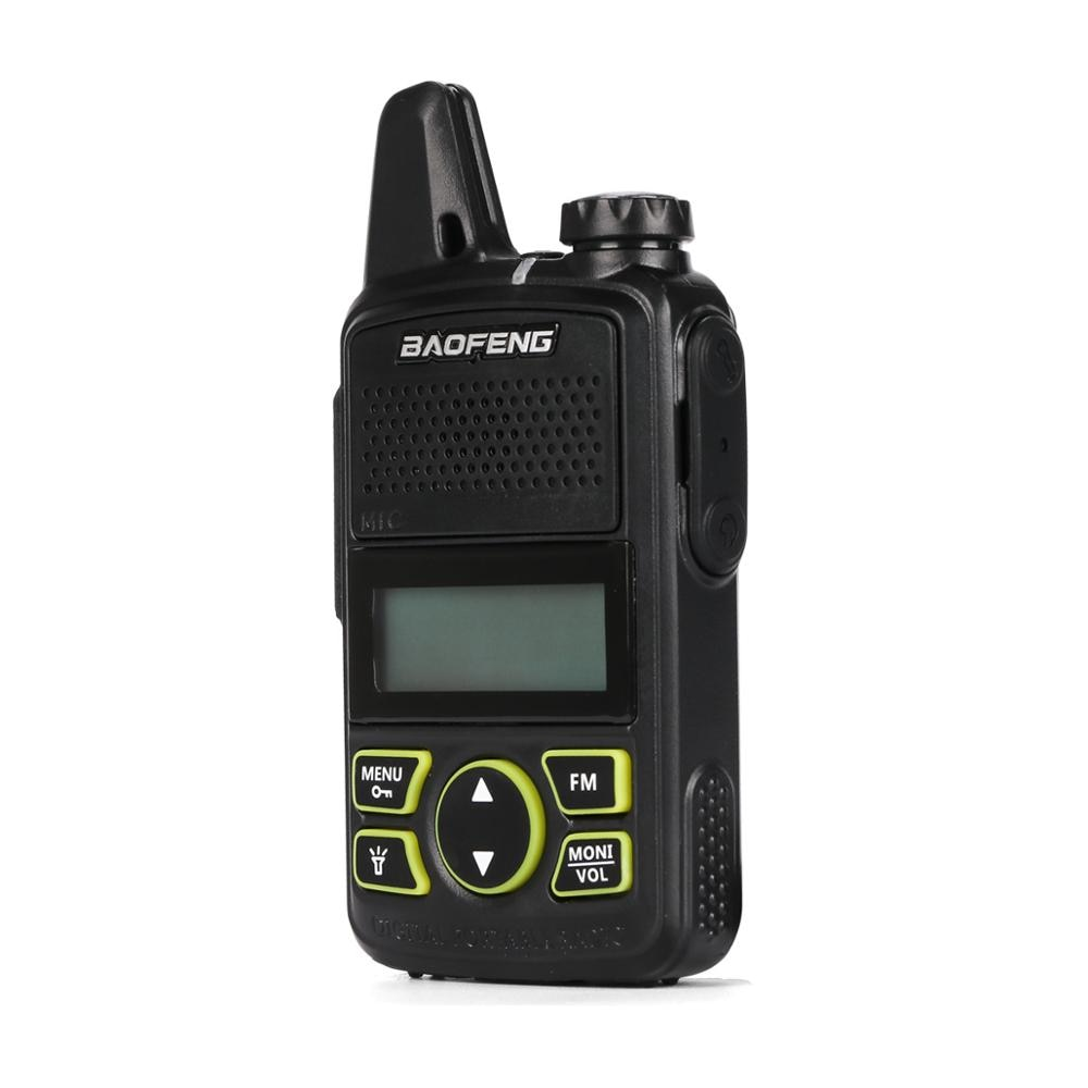2pcs/lot BF-T1 Original Baofeng Mini Walkie Talkie Two Way Radio Portable Security Guard Device UHF 400-470 MHz FM Transceiver enlarge