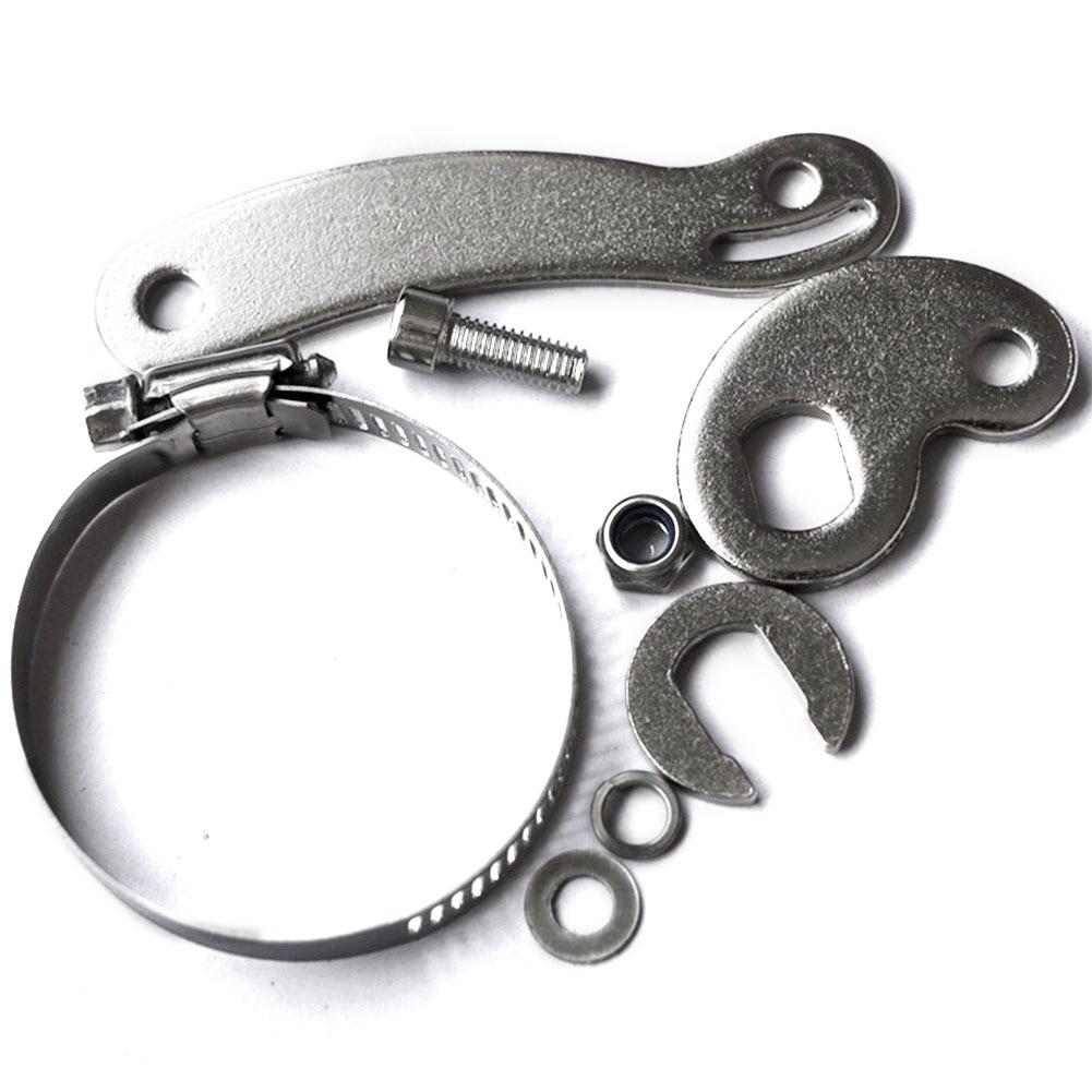 14 мм Электрический велосипед Динамометрический рычаг, набор передних и задних алюминиевых аксессуаров DIY, велосипедный выпадающий усилитель, простая установка, многоцелевой черный