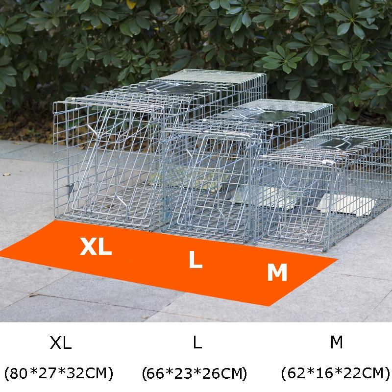Super Large Catching Mice Mouse Traps Bait Snap Rodent Catcher Foldable Reusable Mice mousetrap Hunt Weasel Wild Cat Rat Cage