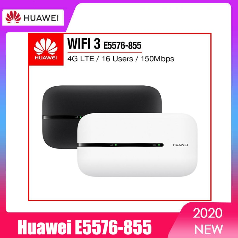 novo desbloqueado huawei e5576 855 4g lte movel wifi roteador venda