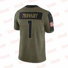 Cardinals Custom Stitch Men Limited Olive Football Jersey Watt Tillman Hopkins Murray Fans T-shirt 2