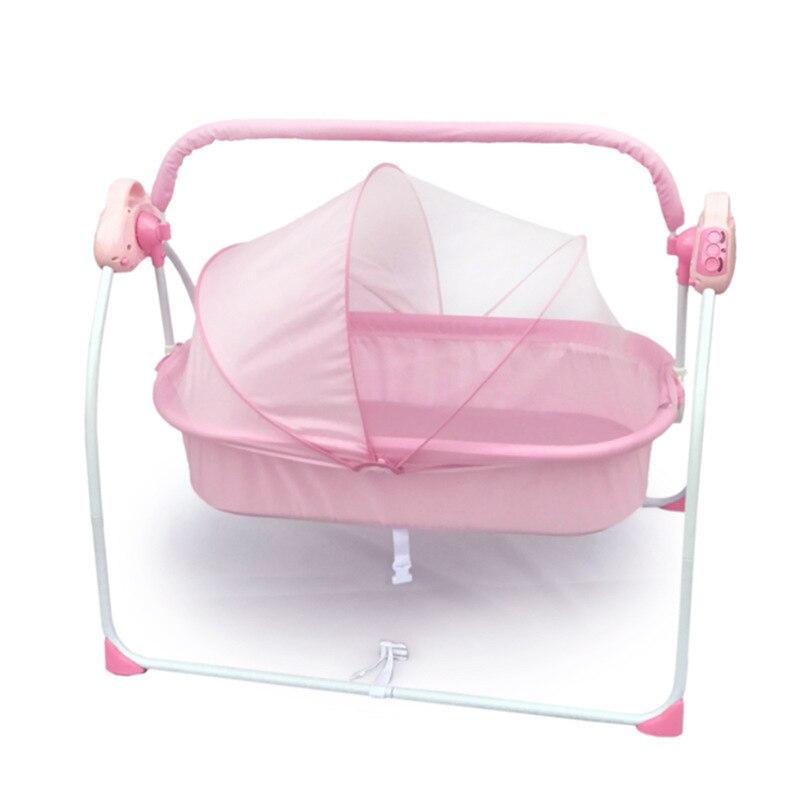 Portable Hanging Baby Crib Netting Newborn Baby Folding Bed Bassinet Convertible Baby Crib Bedding Sets Nursery Furniture Cot enlarge
