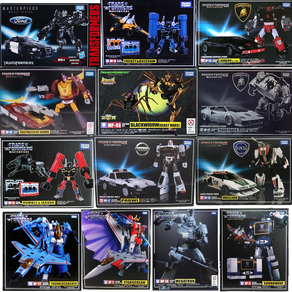 Takara Tomy Transformers Masterpiece KO MP 11 12 13 14 15 16 17 18 19 20 21 23 25 26 27 30 33 36 39 46Action Figure Model Toys