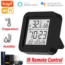Умный Wi-Fi ИК датчик температуры и влажности с пультом ДУ