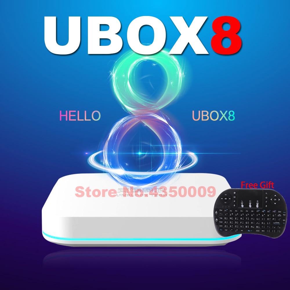 UBOX8 الايجابيات ماكس مستقرة أندرويد 10 صندوق التلفزيون AI صوت ثنائي واي فاي 4GB 64GB الساخن في اليابان كوريا الولايات المتحدة الأمريكية CA SG NZ AUS UBOX ...