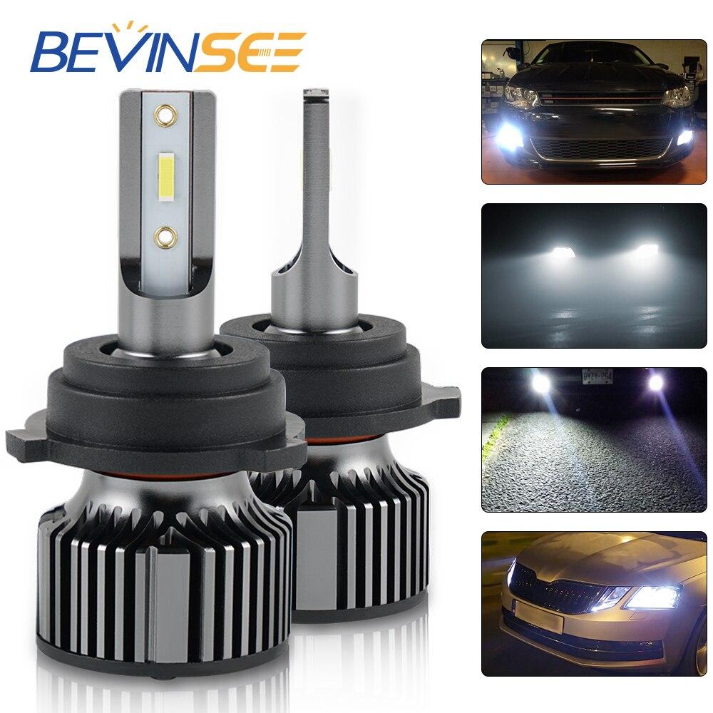 H7 bombillas de faro LED Luz de coche de la lámpara automática para Skoda octvia hyndaie Starex VAN MG Lei Teng Si VW Polo MK5 Touran 10000LM 6000K