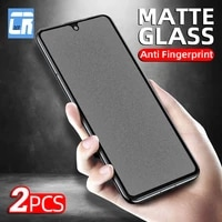 2pcs matte frosted glass for samsung galaxy note 20 m51 m31 m21 f41 a31 a51 a71 a50 a21s a20 a40 a42 s20 fe tempered glass