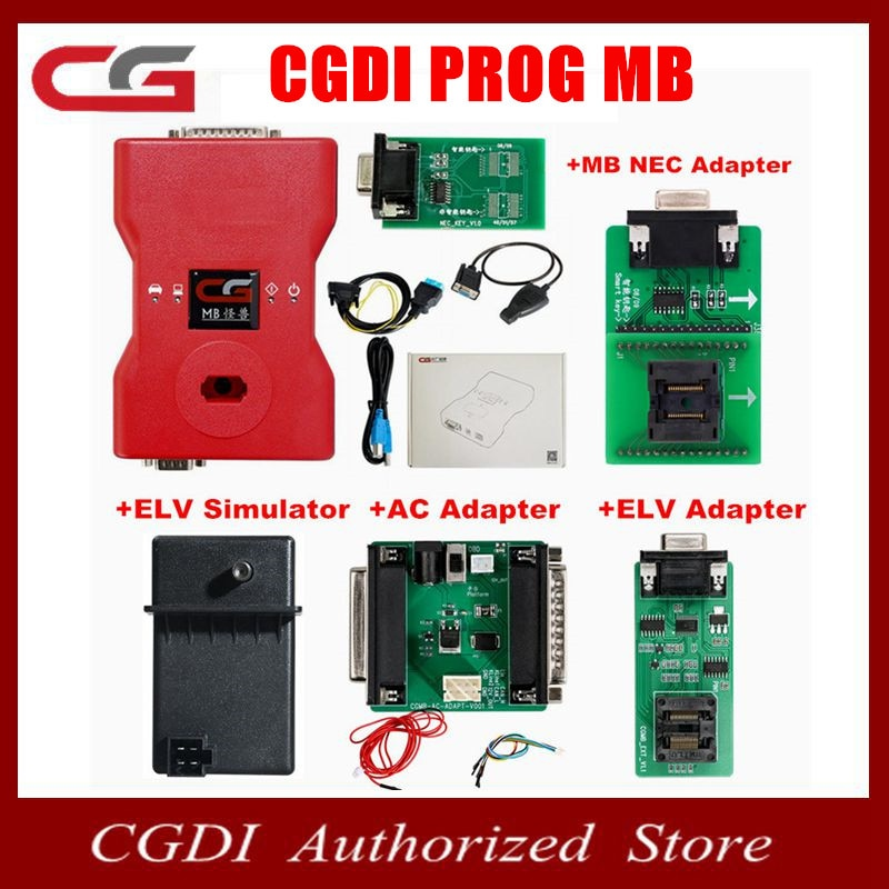 Original CGDI Prog MB for Benz Car Key Add Fastest for Benz Key Programmer Support All Key Lost with
