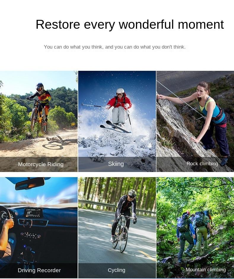 Sports DV cross border dedicated for Amazon 4K Sports Camera WiFi diving outdoor waterproof mini camera enlarge