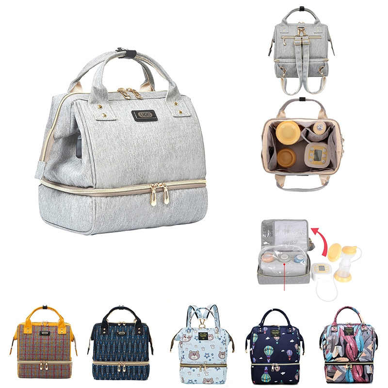 Diaper Bag Mummy Maternity Bags For Baby Stuff Small Baby Nappy Changing Backpack For Moms Travel Wo