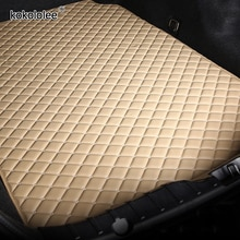 kokololee Custom car trunk mats for Jaguar all models F-PACE XF XE auto accessories car styling