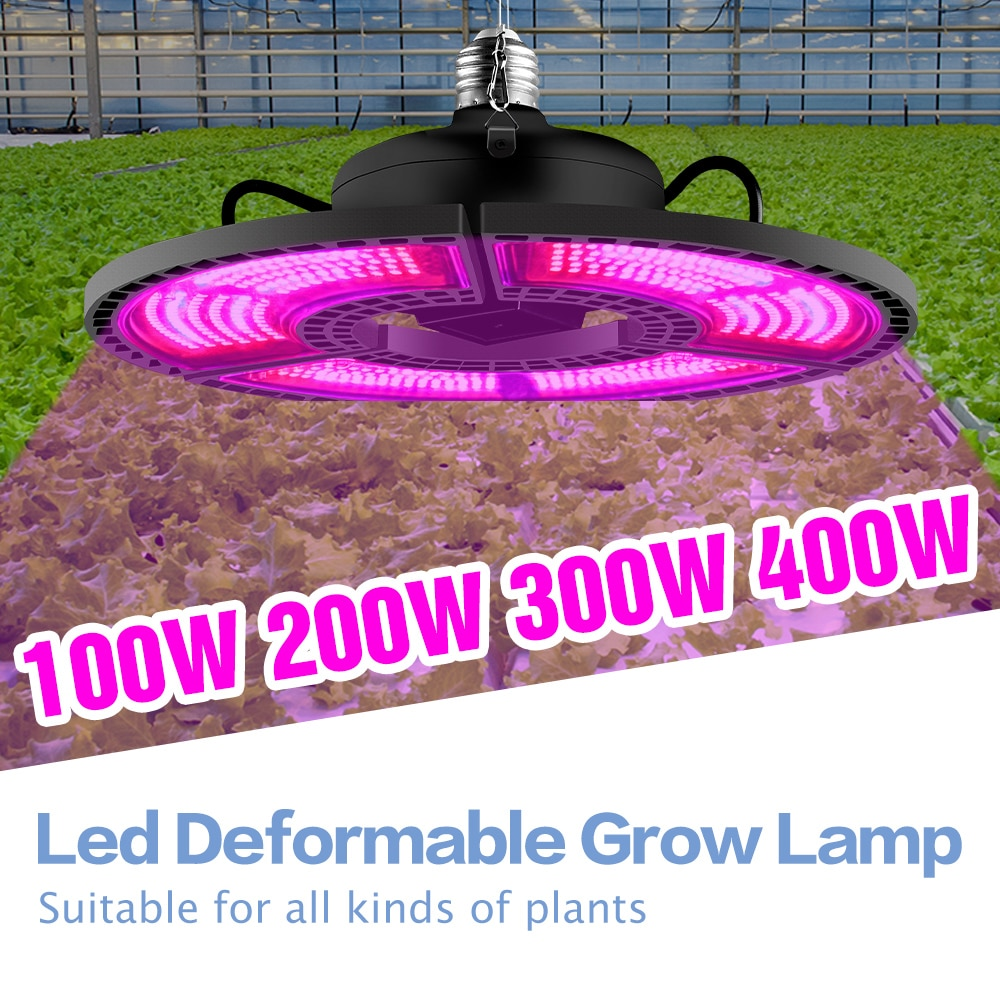 e27 led grow light white 100w 200w 300w 400w led plant light bulb 110v e26 led full spectrum growing lamp 220v greenhouse lamp E27 Led Grow Light 100W 200W 300W 400W Full Spectrum Bulb 220V Led Plants Light E26 Fitolampy 110V Hydroponics Led Phyto Lamp