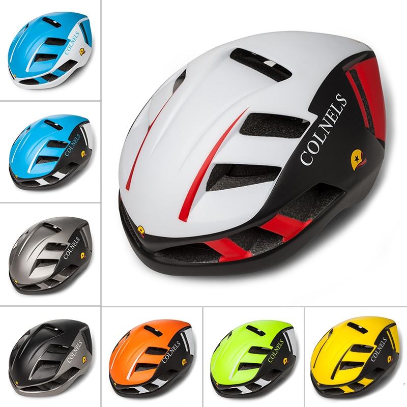 COLNELS Road Bicycle Helmets Matte Men Women MTB Bike Helmet C-888 Ultralight Integrally-molded Mountain Cycling