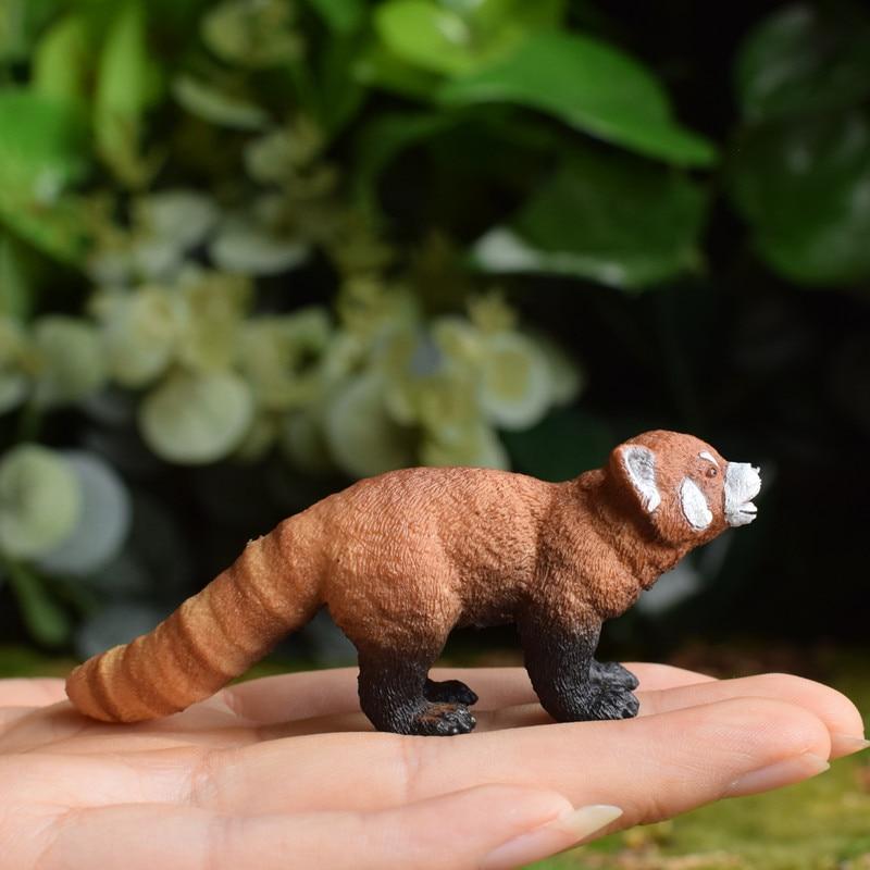 pvc  figure   model  toy  red panda