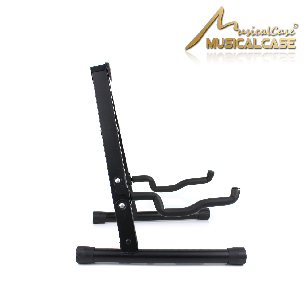 Guitar Stand Folding Universal A frame Stand for All Guitars Acoustic Classic Electric Bass Travel Guitar Stand, Black enlarge